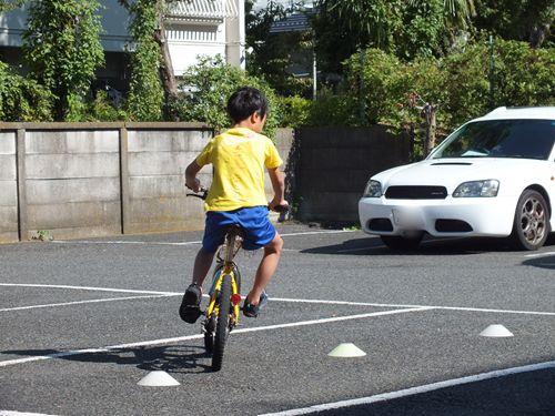 仮「はじめての自転車安全 ...