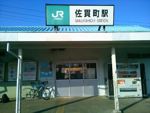 ③佐貫町駅に到着_R